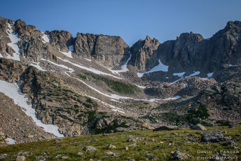 Jagged rocks in the Indian Peaks Wilderness | Brainard Lake Recreation Area
