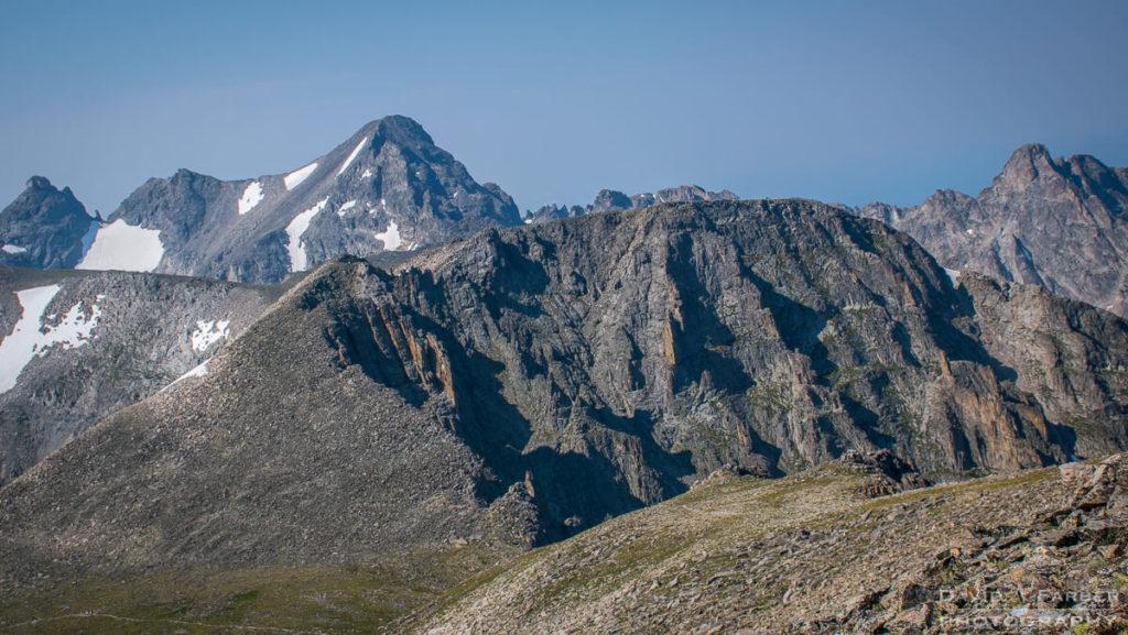 View of Apache Peak from Pawnee Peak | Brainard Lake Recreation Area