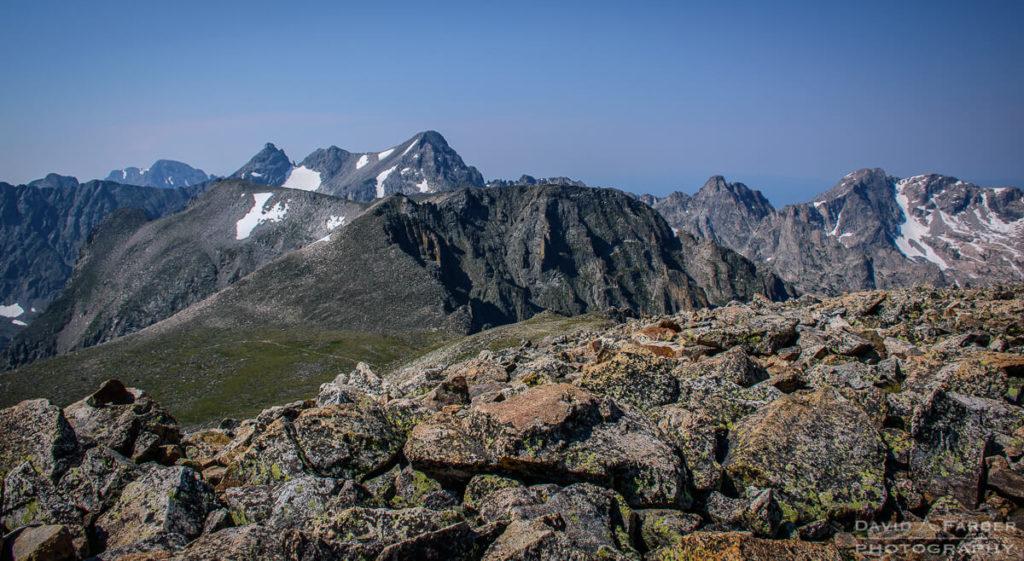 Navajo and Apache Peak in the Indian Peaks Wilderness | Brainard Lake Recreation Area