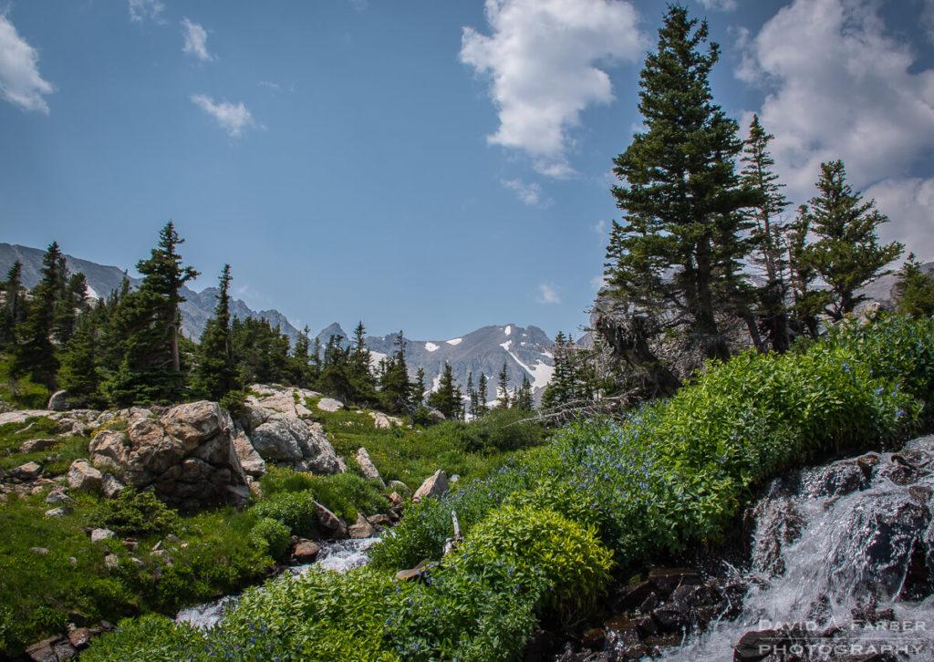 Water flowing below Lake Isabelle | Brainard Lake Recreation Area