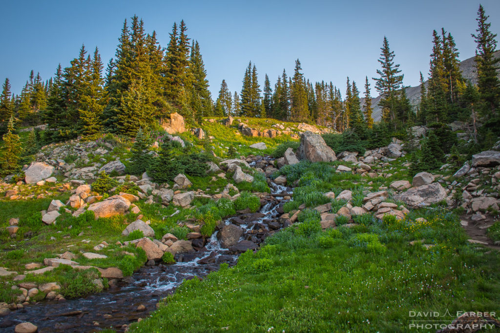 Early morning in the Indian Peaks Wilderness | Brainard Lake Recreation Area