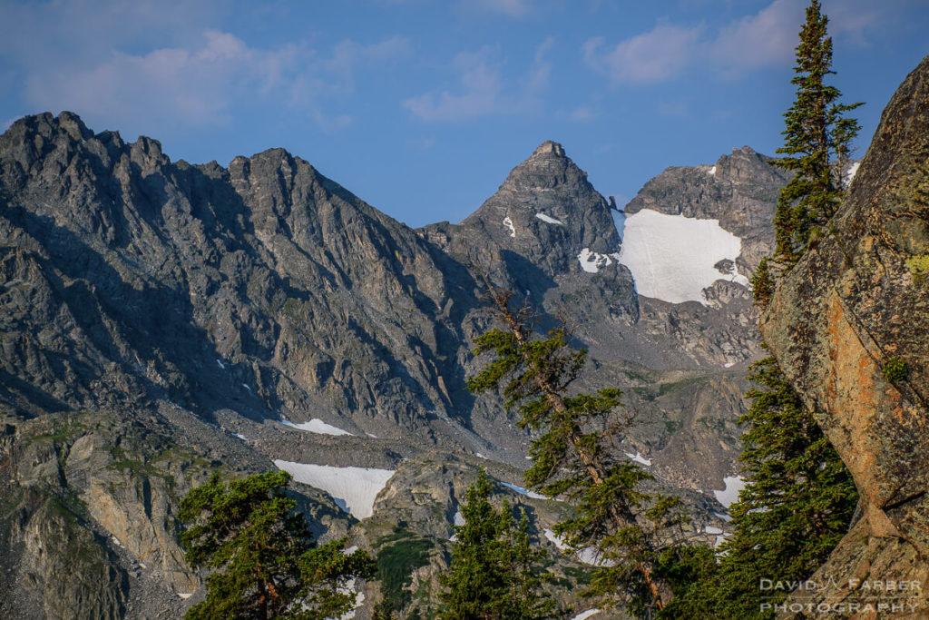 View of Navajo Peak from the Pawnee Pass Trail | Brainard Lake Recreation Area