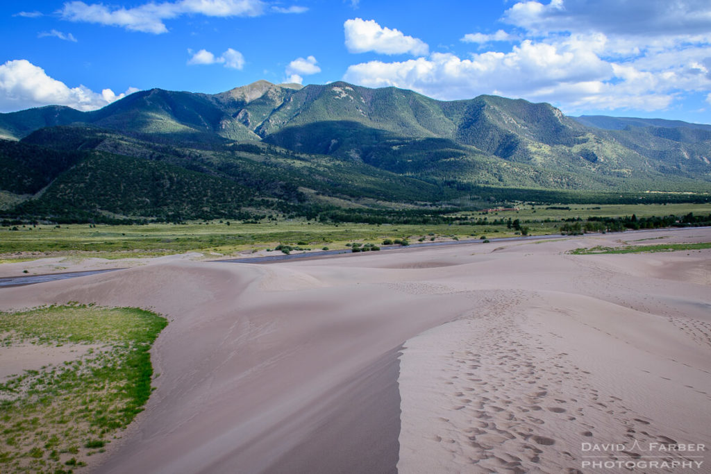 Looking back towards Medano Creek | Great Sand Dunes National Park